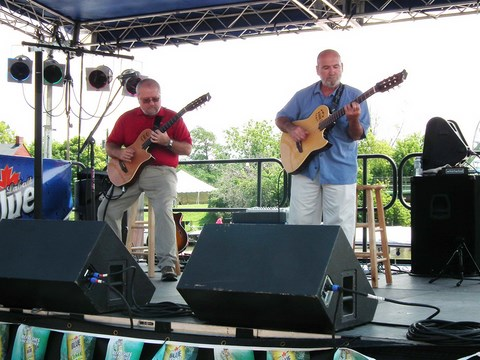 Lewis and Klark Guitar Duo Canalfest 2013