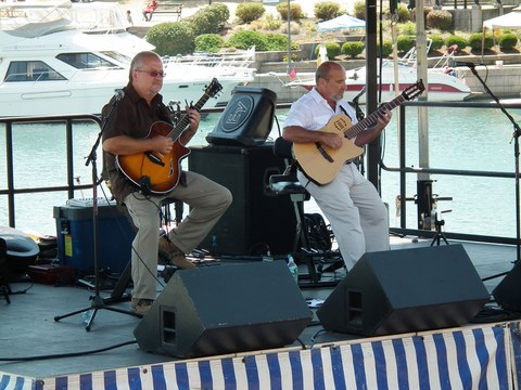 Lewis and Klark Guitar Duo Canal Fest